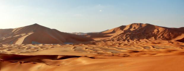Puste kwatery w Omanie i Arabii Saudyjskiej
