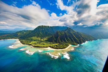 Z wybrzeża Pali, Kauai