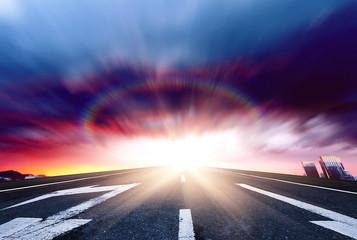 The future road, shine