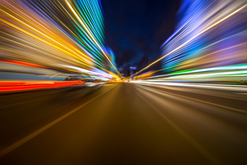 Abstract background of high speed