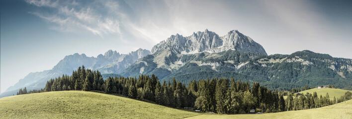 Österreichische Berge - Wilder Kaiser, Tirol, Austria