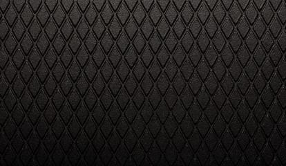 Abstract black metal texture dark diamond background