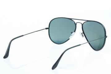 4067647 Back of sunglasses isolated
