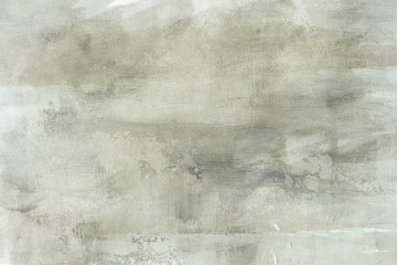 grungy painting draft on canvas background or texture