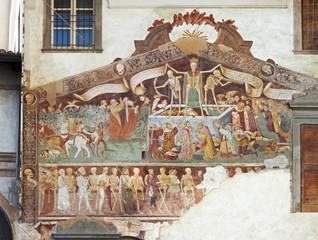 Clusone, Fresco, Dance of the Death