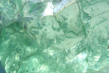 texture of a piece of glass