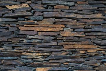 stone tile wall rustic