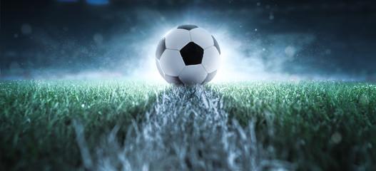 Anstoß - Fußball - Spielfeld
