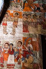 Äthiopien  - Kloster bei Gorgora auf der Fahrt von Bahir Dar nach Gondar
