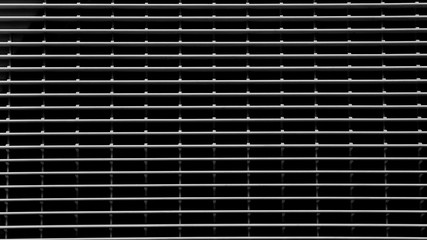 pattern of plastic grating - light and shadow