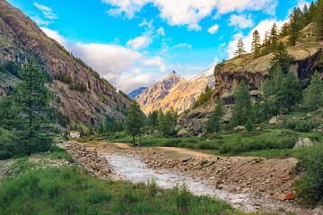 Gran Paradiso National Park Landscape