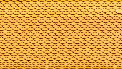 classic orange ceramic roof pattern