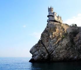 Crimea, castle swallow nest