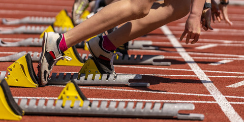 Sprint start w lekkoatletyce