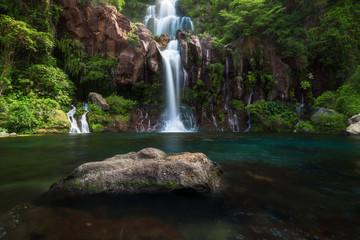 Les Cormorans waterfall in Saint-Gilles on Reunion Island