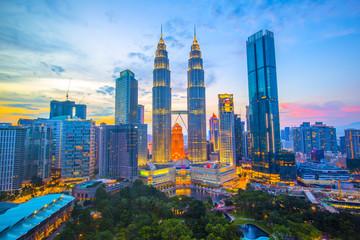 マレーシア クアラルンプールの街並み