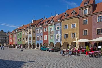 Posen, Häuser am Alten Markt