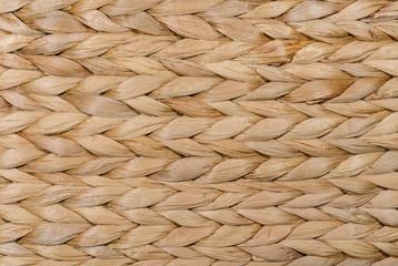Dry grass wicker background texture
