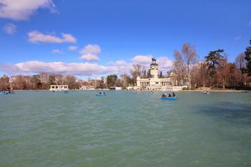 Parque del Buen Retiro de Madrid, España