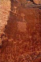 Maze Petroglyphs, Vermilion Cliffs National Monument, AZ