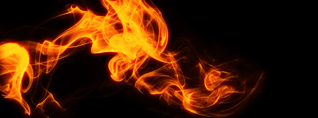 Materiał tła płomienia