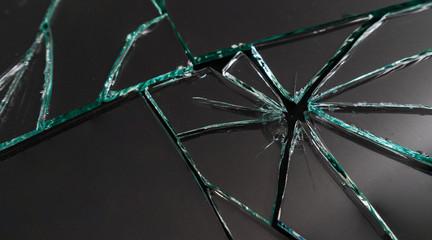 Broken mirror background