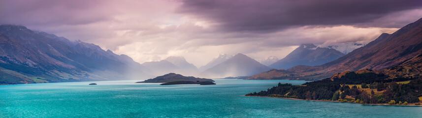 Sturm über Glenorchy, Central Otago - Südinsel von Neuseeland