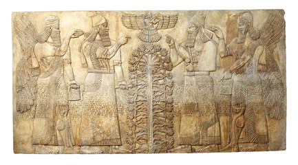 Starożytna ulga od Dur-Sharrukina