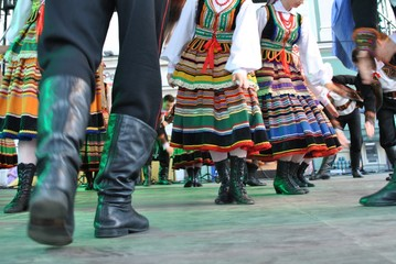 Lubelszczyzna - tradycyjny taniec ludowy