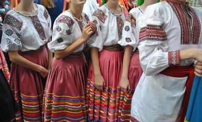 Ukraina - stroje ludowe