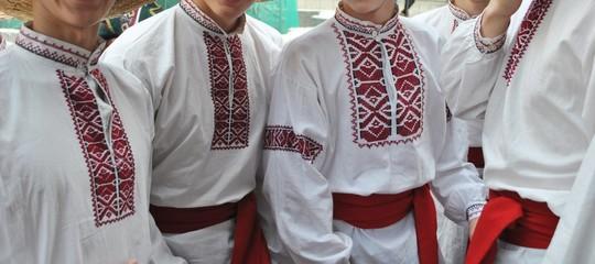 Ukraina, męskie stroje ludowe