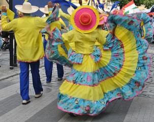 Taniec ludowy - Kolumbia