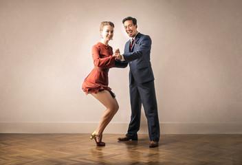 Tancerz lubi tańczyć razem