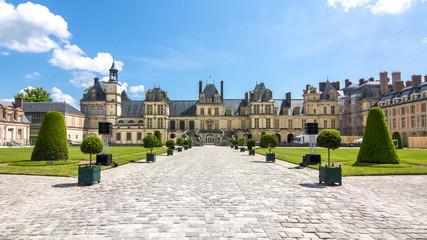 Fontainebleau palace (Chateau de Fontainebleau), France