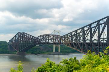 Quebec city bridge in Quebec city, Canada