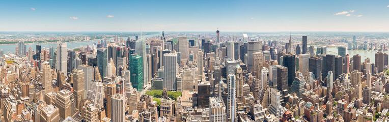 Beautiful Panoramic View of New York