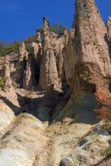 Autumn Landscape of Rock Formation Devil's town in Radan Mountain, Serbia