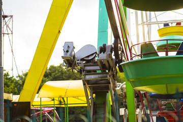 Ferris wheel controlling mechanism