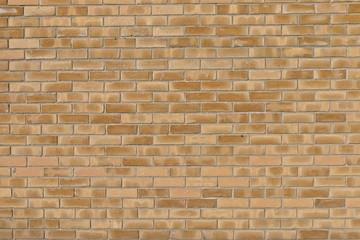 Modern brick wall light brown beige