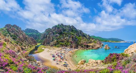 Landscape of Costa Paradiso with Spiaggia di Li Cossi, Sardinia