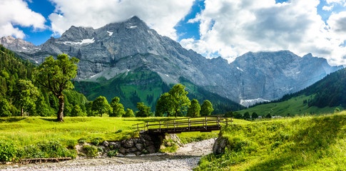 góry Karwendel