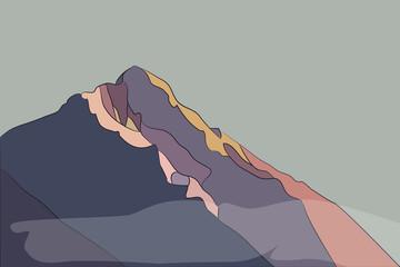 bright mountains