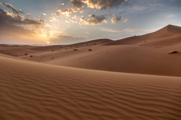 Sahara desert ,great landscape in Morocco