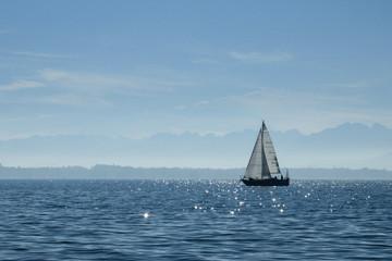 Jacht na Jeziorze Bodeńskim