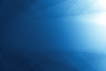Geometry Line Abstract arts Shading and gradient light color blue background.