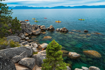 Sand Harbor Beach Lake Tahoe Nevada State Park
