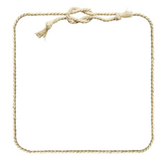Square rope frame