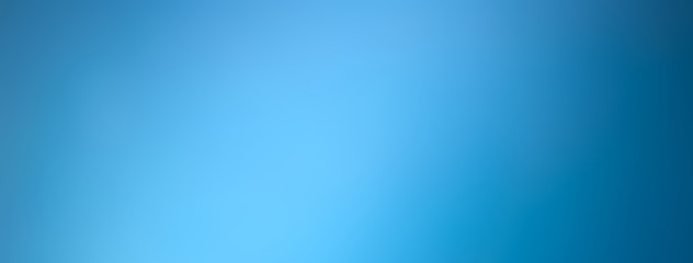 Light blue gradient abstract banner background