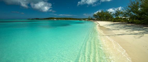 Lagoon in Exuma, Bahamas