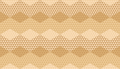 Beige color geometric textured seamless pattern